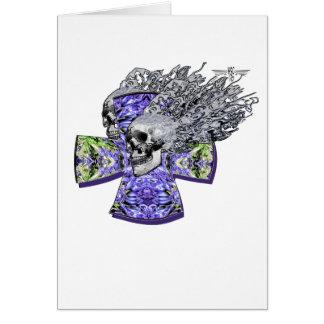 Screaming skull 2 card