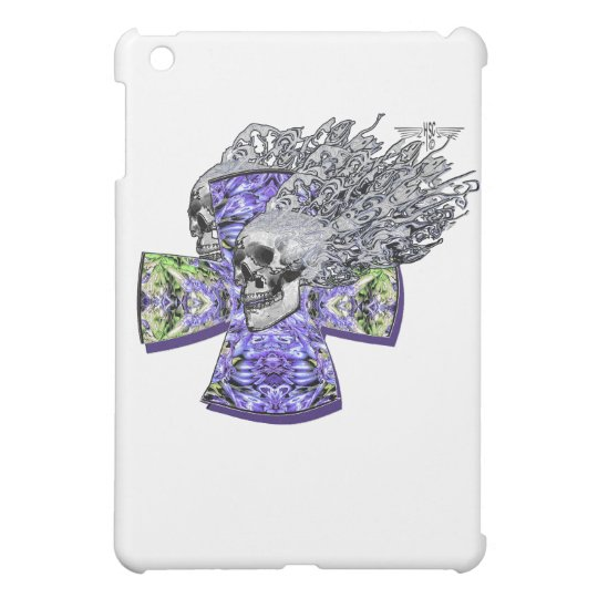 Screaming skull 2 iPad mini case
