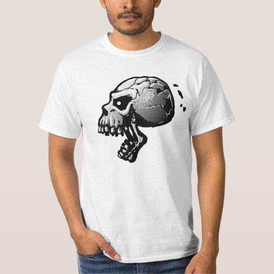 Screaming Skull B&W T-Shirt
