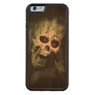SCREAMING (skull) ~ Carved Cherry iPhone 6 Bumper Case