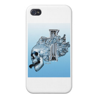 screaming skull covers for iPhone 4