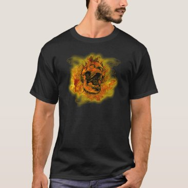 thamagikal1 Screaming skull T-Shirt