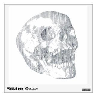 Screaming Skull Wall Sticker