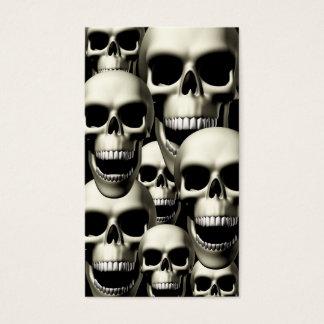 Screaming Skulls Business Card