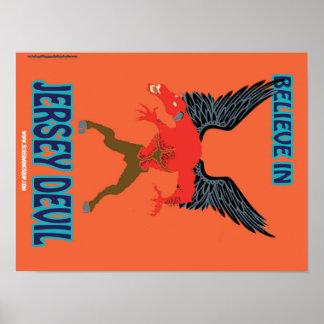 SCREAMING SOUP! Believe in Jersey Devil Poster