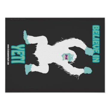 ScreamingSoup SCREAMING SOUP! Believe in Yeti Poster