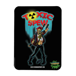 SCREAMING SOUP! Deadbeat and Toxic Spew Magnet