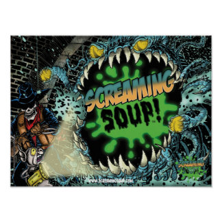 SCREAMING SOUP! Deadwest in Sewer Poster