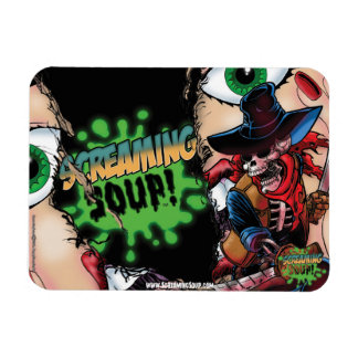 SCREAMING SOUP! Deadwest Slasher Magnet