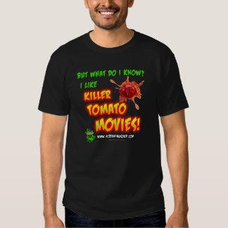 SCREAMING SOUP! I Like Killer Tomato Movies TShirt