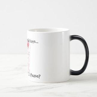 "Screaming Squid ""Coffee"" Color-Changing Mug"