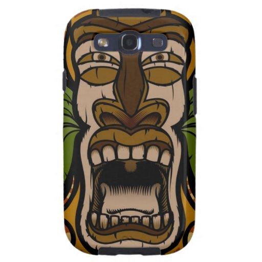 Screaming Tiki phone case