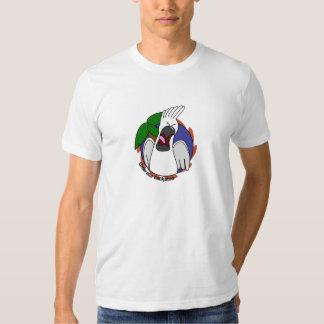 Screaming Umbrella Cockatoo Apparel T-Shirt