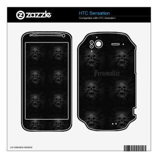 Screaming Vampire Skulls HTC Sensation Skin