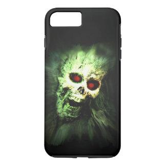 Screaming Zombie Skull Halloween iPhone 7 Plus Case