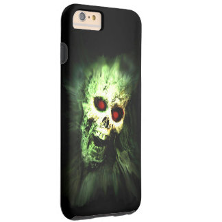 Screaming Zombie Skull Halloween Tough iPhone 6 Plus Case