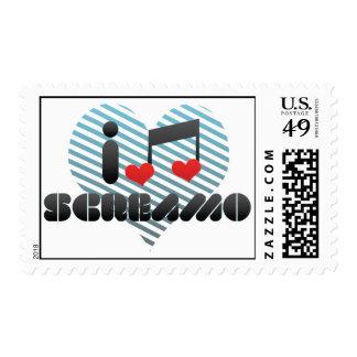Screamo fan stamps