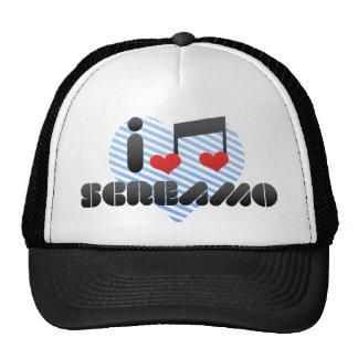 Screamo fan trucker hat