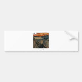 ScreamParty-1 Bumper Sticker