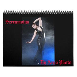 Screamvina Calendar By Argo Photo