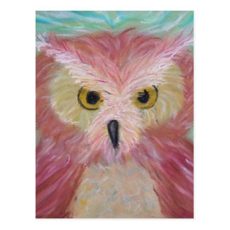 Screech Owl Animal Totem Postcard