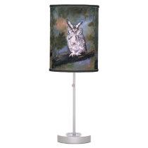 Screech Owl Desk Lamp