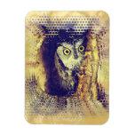 SCREECH OWL Flexible Magnet Magnets