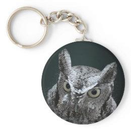 Screech Owl keychain keychain