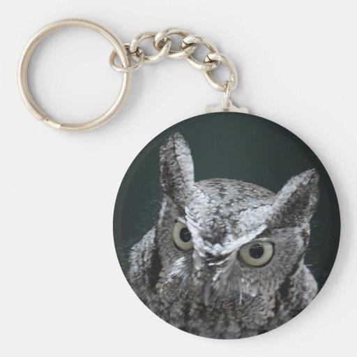 Screech Owl keychain