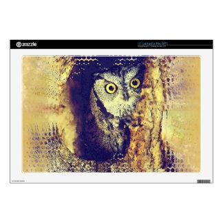 SCREECH OWL Laptop Skin