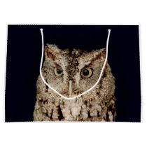 Screech Owl Large Gift Bag
