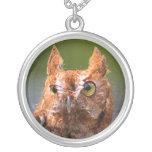 Screech Owl Pendant