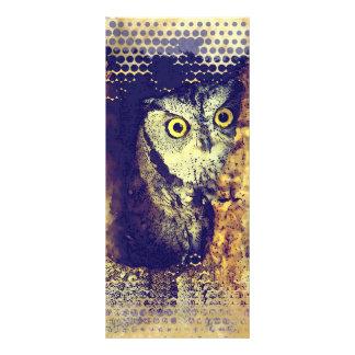SCREECH OWL Rack Card