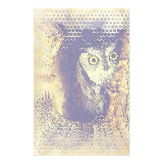 SCREECH OWL Stationery