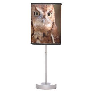 screech owl table lamp