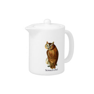 Screech Owl Teapot