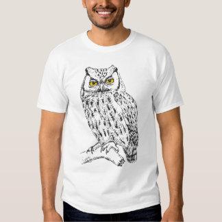 Screech Owl Tee Shirt