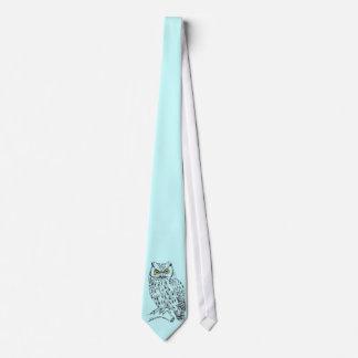 Screech Owl Tie