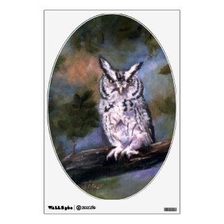 Screech Owl Wall Decal