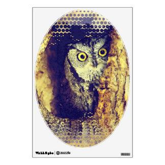 SCREECH OWL WALL STICKER
