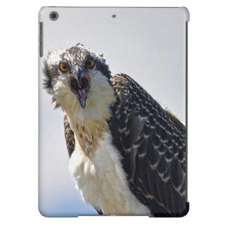 Screeching Osprey Fish-Eagle Wildlife Photograph iPad Air Cover