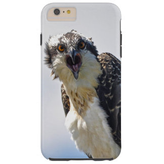 Screeching Osprey Fish-Eagle Wildlife Photograph Tough iPhone 6 Plus Case