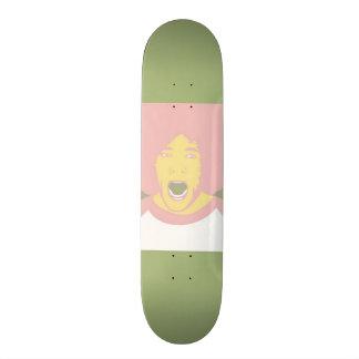 Screeming Afro Skateboard