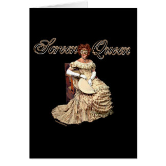 Screen Queen Collage Card