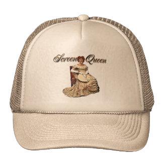 Screen Queen Collage Mesh Hats