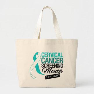 Screening Month Awareness - Cervical Cancer Bag