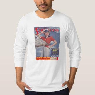 Screenland Movie Magazine 1941 Judy Garland T-Shirt