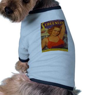 screenland camiseta con mangas para perro