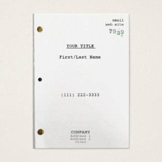 Screenplay IIc Business Card