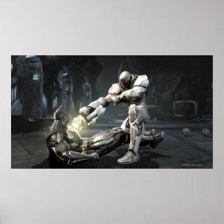 Screenshot: Batman vs Cyborg Poster